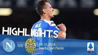 Highlights Serie A - Napoli vs Verona 2-0