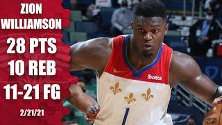 Zion Williamson leads Pelicans to largest comeback win in team history [HIGHLIGHTS] | NBA on ESPN