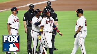 "Braves, Marlins react to Ronald Acuña Jr.: ""He's ready to fight, I'm ready to fight too"" 