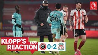 Klopp's Reaction: Taking chances, Adrian & 20 year anniversary | Sheff Utd vs Liverpool