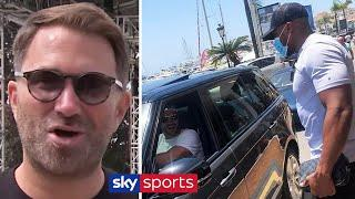 """It was probably awkward!"" 