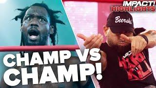 CHAMPION vs CHAMPION in Massive Main Event! | IMPACT! Highlights Jan 12, 2021