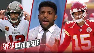 Mahomes 2-peat is more impressive than Brady winning in Bucs debut — Acho | NFL | SPEAK FOR YOURSELF