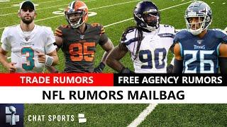 NFL Trade Rumors On Myles Garrett, Josh Rosen & RG3 + Jadeveon Clowney & Logan Ryan Free Agency