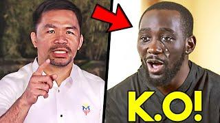 """*WOW* MANNY PACQUIAO SENDS WARNING TO CRAWFORD FOR TRАSН TALK: """"HE RAN AWAY, I WILL К. O!"""""""