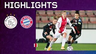 Highlights | Ajax Vrouwen - Bayern München | UEFA Women's Champions League