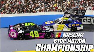 Chase Elliott wasn't 'toying' around in Phoenix | Stop Motion NASCAR | Chase Elliott wins the Title