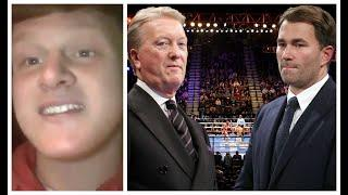 'FRANK WARREN & EDDIE HEARN - IT IS ABOUT TIME YOU STARTED RECOGNISING ME!' - 'FLASH' KAASH BUTTERY
