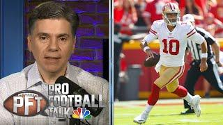 49ers injuries: Jimmy Garoppolo up-in-the-air for Week 3 | Pro Football Talk | NBC Sports