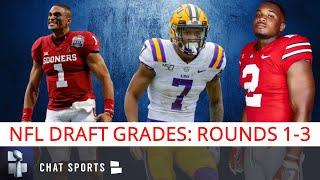 2020 NFL Draft Grades: Biggest Winners & Losers From Rounds 1, 2, 3