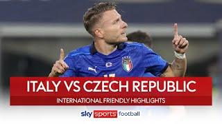 Comfortable Italy win ahead of Euro's | Italy 4-0 Czech Republic | International Friendly Highlights