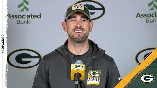 LaFleur: 'You Feel Capable Of Anything' With Aaron Rodgers