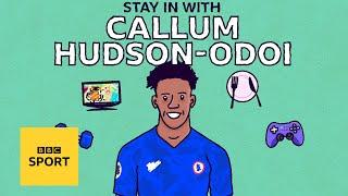 Callum Hudson-Odoi's isolation routine is motivating! | STAY IN WITH | BBC Sport