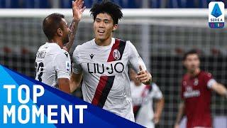 Takehiro Tomiyasu Scores His First Bologna Goal! | Milan 5-1 Bologna | Top Moment | Serie A TIM
