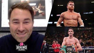 'ONE OF THE HARDEST DEALS I'VE HAD TO PUT TOGETHER!' EDDIE HEARN ON CANELO/SMITH - TALKS TYSON/JONES