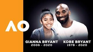 Tennis world pays tribute to Kobe Bryant | Australian Open 2020