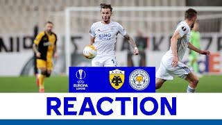 'A Really Good Start To The Group' - James Maddison   AEK Athens 1 Leicester City 2