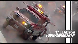 How steep is Talladega Superspeedway? Ask the Air Titan | NASCAR Cup Series