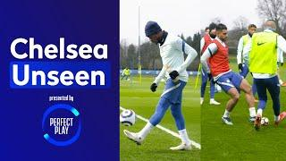 Hudson-Odoi Shows Off Pinpoint Accuracy  Emerson Nutmegs Ziyech!?  | Chelsea Unseen