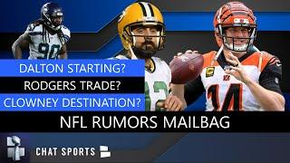 NFL Rumors: Dak Prescott vs. Andy Dalton, Jadeveon Clowney Destinations + Aaron Rodgers Trade Rumors