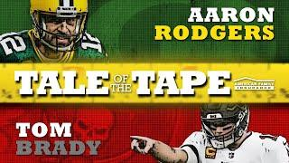 Aaron Rodgers vs. Tom Brady: Tale of the Tape | Green Bay Packers