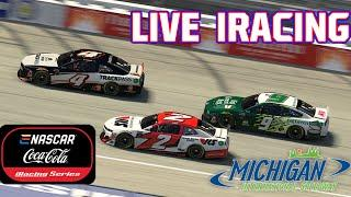 eNASCAR Coca-Cola iRacing Series from Michigan