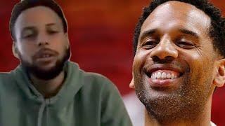 """Steph Curry Claps Back At Lebron's Manager Saying He Doesnt Play Defense """"You Look Stupid"""""""