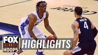 Mahoney leads No.11 Creighton past No.23 UConn with game-high 20 pts | FOX COLLEGE HOOPS HIGHLIGHTS