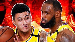 LeBron James Caught Yelling At Kyle Kuzma After Stupid Play In Game 4 Vs. Denver