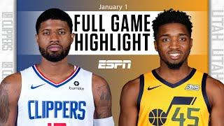 LA Clippers vs. Utah Jazz [FULL GAME HIGHLIGHTS] | NBA on ESPN