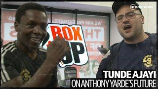 Tunde Ajayi has a new haircut and a personal ring announcer