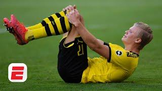 Erling Haaland's injury vs. Bayern Munich: Did the Borussia Dortmund star lose his head? | ESPN FC