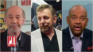 Michael Wilbon and Tony Kornheiser discuss James Dolan's handling of protests | PTI