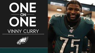 Vinny Curry Talks In-Depth About His Football Journey   Eagles One-On-One