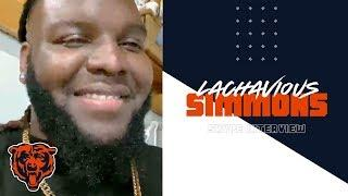 Lachavious Simmons ready to work against Khalil Mack |Skype Interview| Chicago Bears