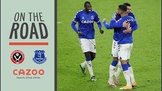 ON THE ROAD: SHEFFIELD UNITED V EVERTON    BEHIND THE SCENES AT BRAMALL LANE WITH CAZOO