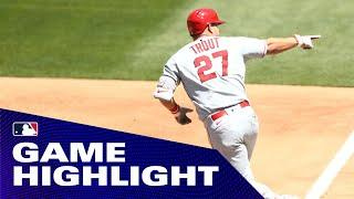 Angels' Mike Trout crushes 1st home run of 2020!