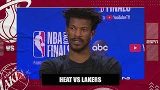 Jimmy Butler: Heat aren't giving up after Game 2 loss to Lakers | 2020 NBA Playoffs