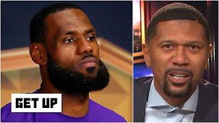 Where will LeBron land on Jalen Rose's all-time NBA list if the Lakers win the Finals? | Get Up