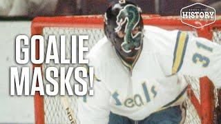 These Are The 10 Greatest Goalie Mask Hockey Cards Of All Time | Hockey Card History