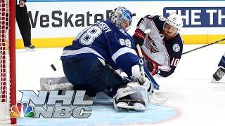 NHL Stanley Cup First Round: Blue Jackets vs. Lightning | Game 2 EXTENDED HIGHLIGHTS | NBC Sports