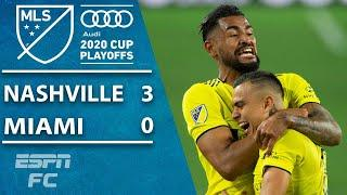 Nashville SC advance! Inter Miami run off the pitch without Gonzalo Higuain | ESPN FC MLS Highlights