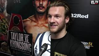 BEN DAVISON REACTS TO JOSH TAYLOR'S BRUTAL KNOCKOUT WIN / TALKS UNDISPUTED FIGHT WITH JOSE RAMIREZ