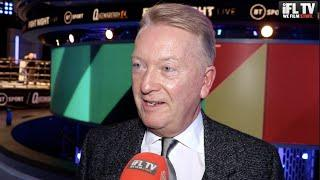 FURY-WILDER III STILL ON? - FRANK WARREN REVEALS A JUDGE IN AMERICA WILL MAKE A DECISION RE CONTRACT