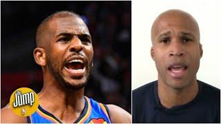 I'll give Chris Paul my championship ring for $44 million - Richard Jefferson | The Jump