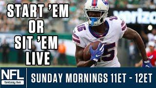 Week 3 NFL Fantasy LIVE: Start 'Em & Sit 'Em, DFS Value Plays & More!