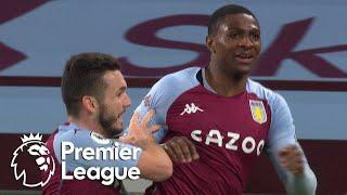 Kortney Hause heads 10-man Aston Villa into 2-0 lead v. Crystal Palace | Premier League | NBC Sports