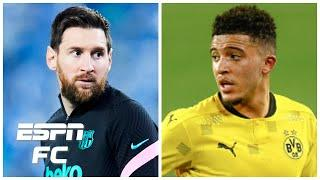Most anticipated summer transfers: Lionel Messi to PSG? Jadon Sancho to Manchester United? | ESPN FC
