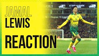 Norwich City 1-0 Leicester City | Jamal Lewis Reaction