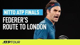 Federer's Route To London | Nitto ATP Finals | ATP